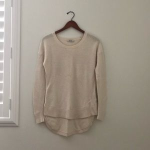 Madewell Sweater in Cream Size XS